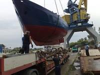 Низкорамный трал яхтовоз