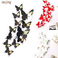 Бабочки для декора 3D , для дома, DIY