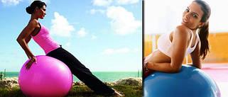Мячи для фитнеса и пилатеса