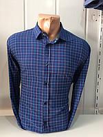 Мужская рубашка в среднюю клетку BLACK STONE