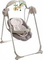 Кресло-качалка Polly Swing Up Chicco - Италия со съемными подвесными мягкими игрушками