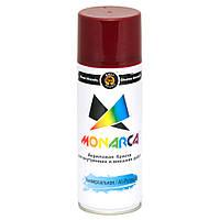 Краска аэрозольная Monarca RAL3005 Красное Вино 520 мл