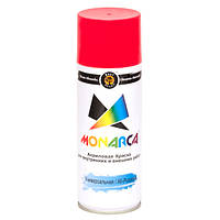 Краска аэрозольная Monarca RAL3020 Светофорно - Красный 520 мл, фото 1