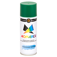 Фарба аерозольна Monarca RAL6002 Зелений Лист 520 мл