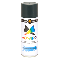 Краска аэрозольная Monarca RAL6005 Зеленый Мох 520 мл