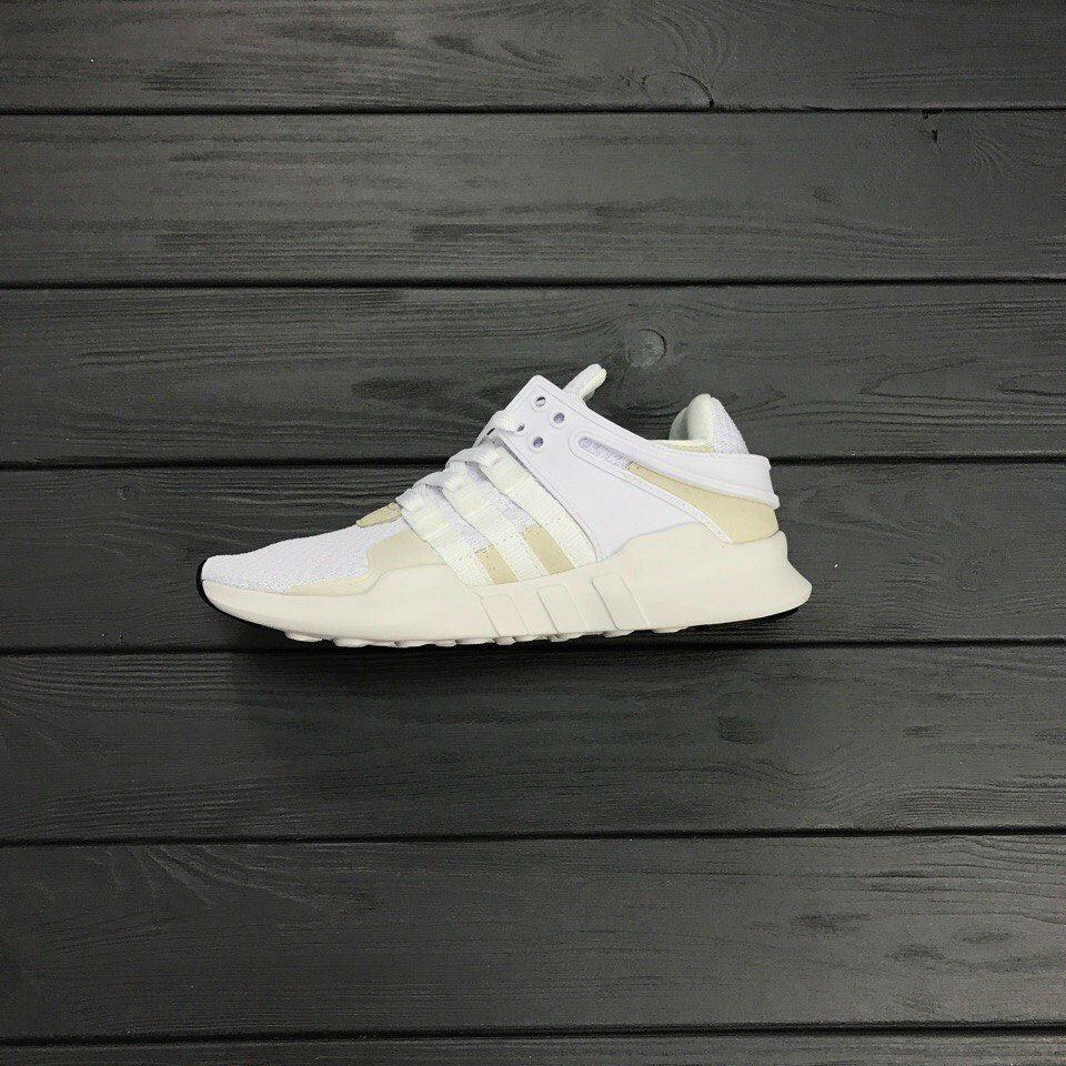 Кроссовки Adidas EQT White. Живое фото. Топ качество! (Реплика ААА+)