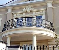 Кованое ограждение балкона, террасы