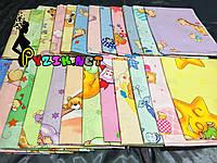 Комплект нежные ситцевые пеленки (5 шт), фото 1