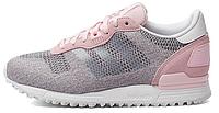 Женские кроссовки Adidas ZX700 EM (aдидас ZX) розовые