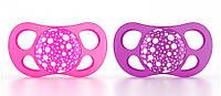 Twistshake - Пустышки 6m +, 2 шт (розовая, фиолетовая)