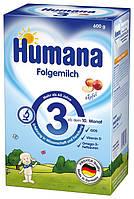 Молочная смесь Humana 3 с пребиотиками с 10 мес. 600 г Суміш молочна суха