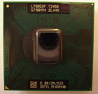 Процессор для ноутбука Intel  Core Duo T2450 2Ghz/2M/533 socket M