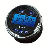 Авто часы VST 7042 V: календарь, будильник, термометр, вольтметр