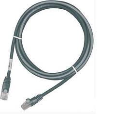 Патч-корд RJ45, UTP 5e, 0.5m, LSZH,  PCD-01000-0E  Серый