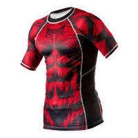 Рашгард Peresvit Beast Silver Force Rashguard Short Sleeve Red