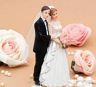Фигурка на торт Влюбленная парочка, 15 см