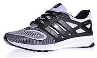 Кроссовки мужские Adidas Energy Boost 2 Black White текстильные , Белый, 40 , фото 1
