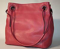 Сумка женская Tony Bellucci розовая натуральная кожа