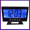 Часы электронные VST 8082 — Настольные часы на батарейках, включение по хлопку, фото 3