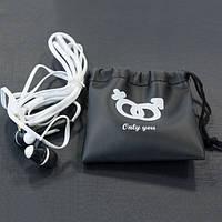 Гарнитура AIYALE A16 (Черный)  вауумные наушники 3,5 для iphone для samsung для айфона самсунга с микрофоном