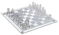 Игра в подарок — Шахматы стеклянные 35 х 35 см, фото 1