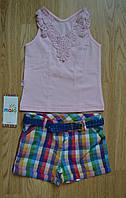 Летний комплект для девочки (майка+шорты), Maia (Турция)
