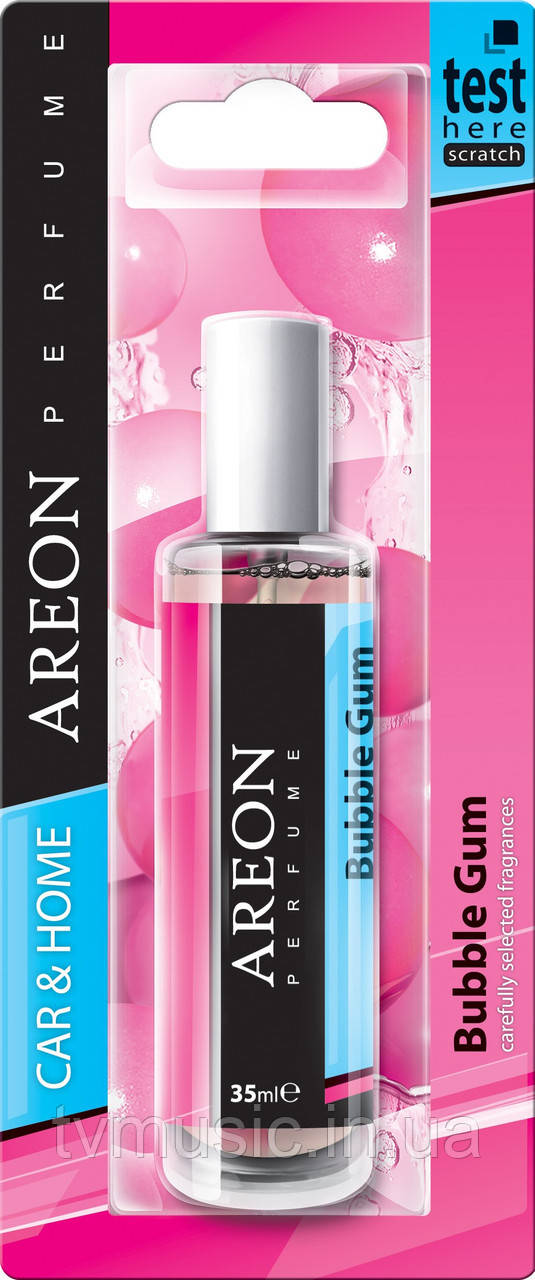 Ароматизатор Areon Perfume Bubble Gum / Жвачка 35ml