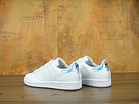Женские кроссовки в стиле Adidas Stan Smith Holographic натуральная кожа, фото 1