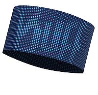 Повязка Buff UV Headband deep logo dark navy