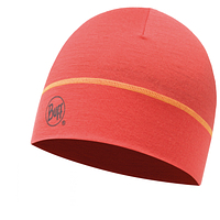 Шапка Buff Merino Wool 1 Layer Hat solid coral