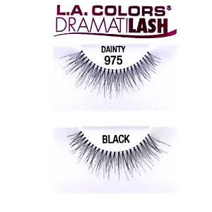 БЕСПЛАТНО ПРИ ЗАКАЗЕ ОТ 700 грн! Накладные ресницы LA Colors Dramatilash Strip Eyelashes #975