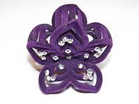 Заколка для волос краб, фиолетовый 144_4_14a1