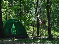 Палатка туристическая 2-х местная 205х150х105 см