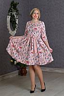 Платье женское батал 267 Платья женские больших размеров
