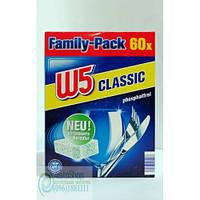 W5 Таблетки Для Посудомоечной Машины, 60Шт