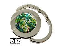 """Держатель для сумки """"Пальмовые листья""""  Код: 28021"""