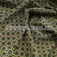 Ткань Софт стрейч (круги)