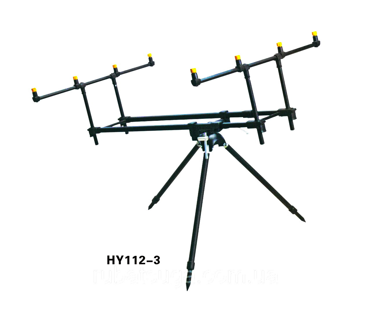 Подставка Род Под на 4 удилища HY 112-3