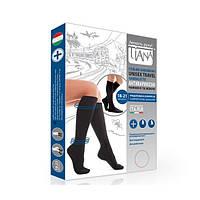 Хлопковые антиварикозные гольфы UNISEX Travel Tiana арт.955, компрессия 18-21 мм рт.ст., (Италия)