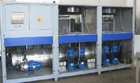Промышленный холодильник 140 квт б/у - чиллер б/у GR1AC-140 от Industrial Frigo