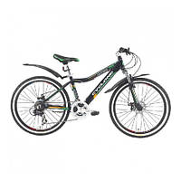 """Велосипед Cyclone 24"""" ULTIMA - Disk 14"""" черный"""