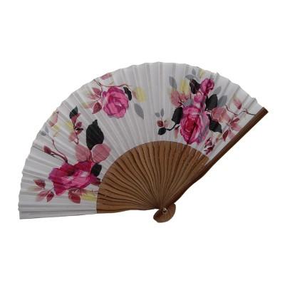 Корейский веер «Розы»