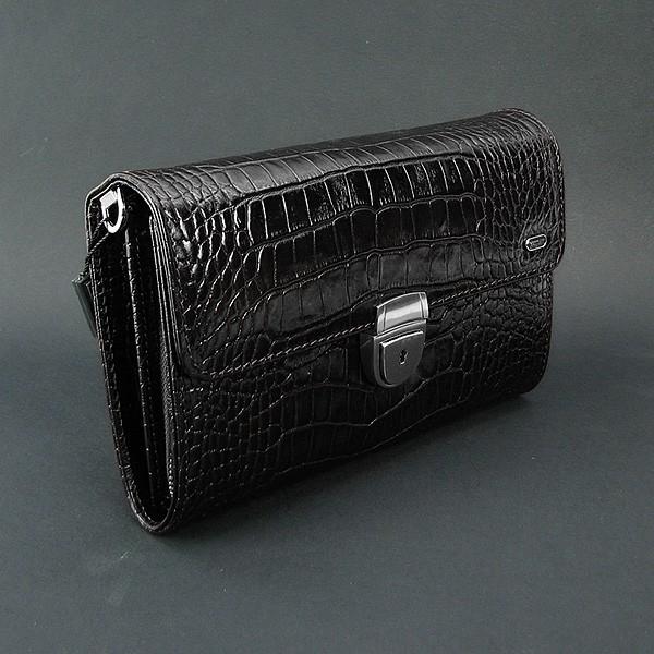 Клатч кожаный мужской черный Desisan 328 Турция