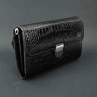 Клатч кожаный мужской черный Desisan 328 Турция, фото 1