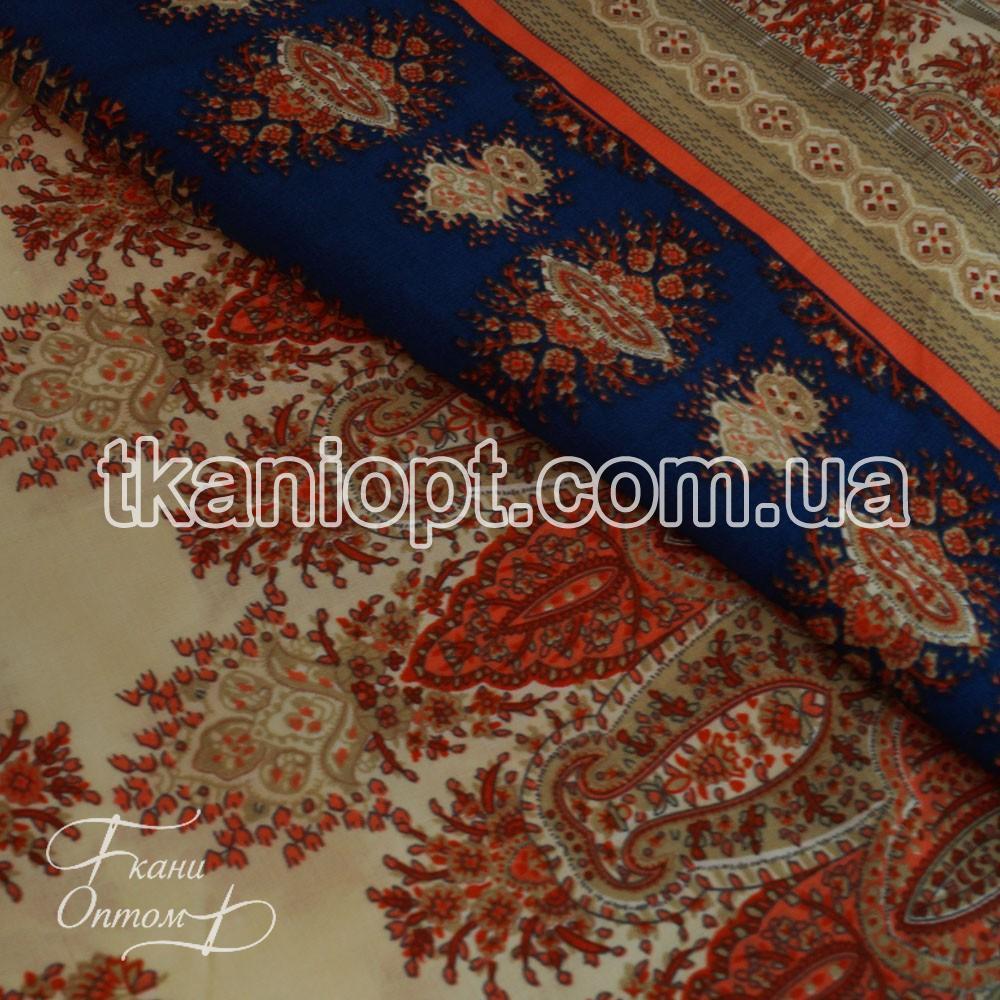 Ткань Штапель принт (купон)