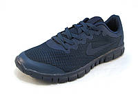 Кроссовки мужские  Nike Free Run 3.0 сетка,синие (найк фри ран)(р.41)