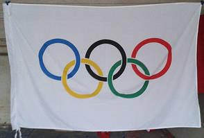 Олимпийский флаг 90х150см