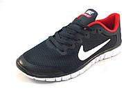 Кроссовки мужские  Nike Free Run 3.0 сетка,синие (найк фри ран)(р.41,42,43,44)