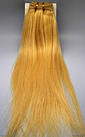 Волосы натуральные длинна 45 см(светлый блонд)