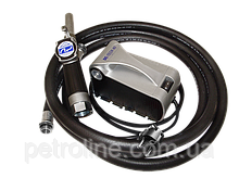 Насос для перекачки и заправки дизельного топлива, очень легкий переносной комплект 24В, 40 л/мин